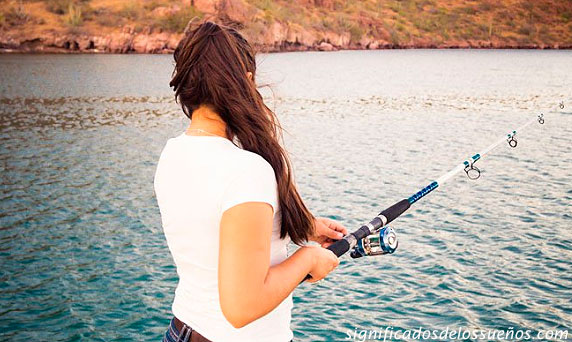 soñar que estas pescando