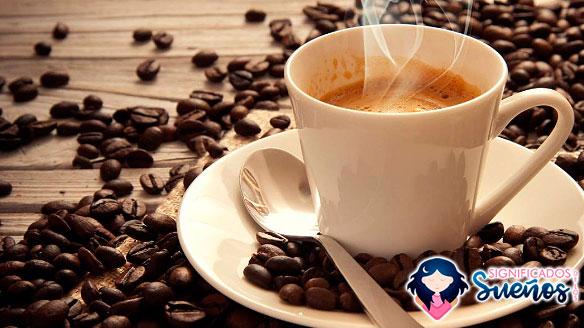 soñar con cafe