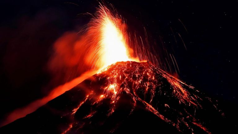 soñar con erupciones volcanicas