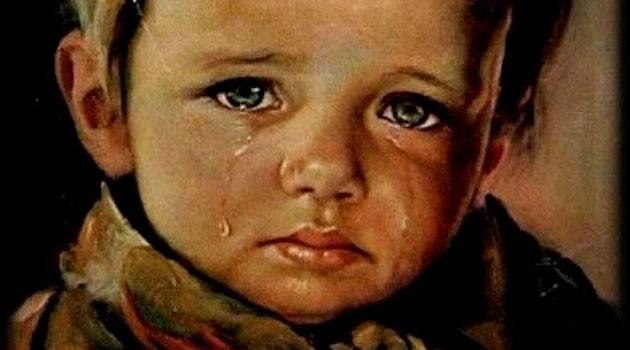 niños llorando imagen