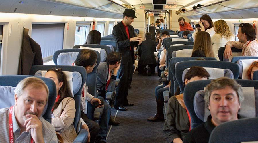soñar que viajas en un tren