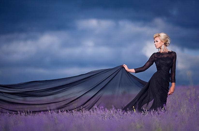 soñar con vestido de novia negro 1