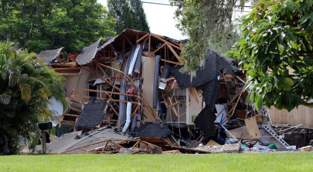 soñar con casas derrumbadas