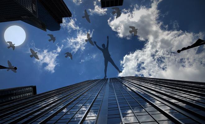 soñar que te caes de un edificio