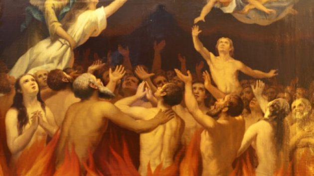 el purgatorio imagen