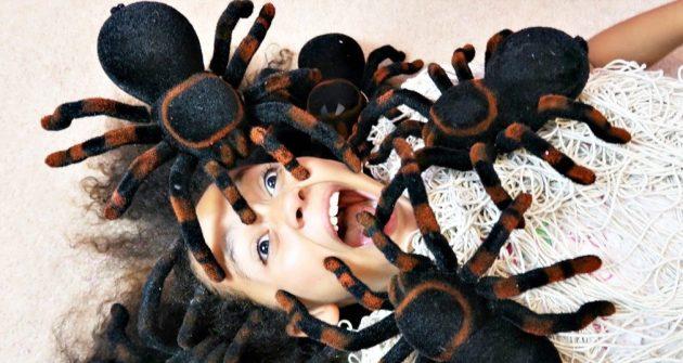 soñar picado por araña