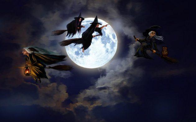 brujas volando en sueño