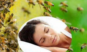Soñar con enjambre de abejas
