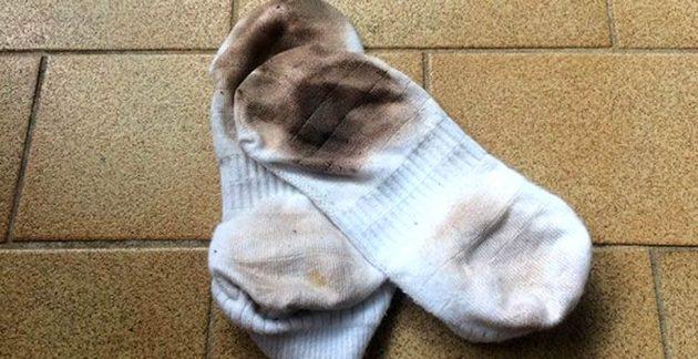 calcetines sucios imagen