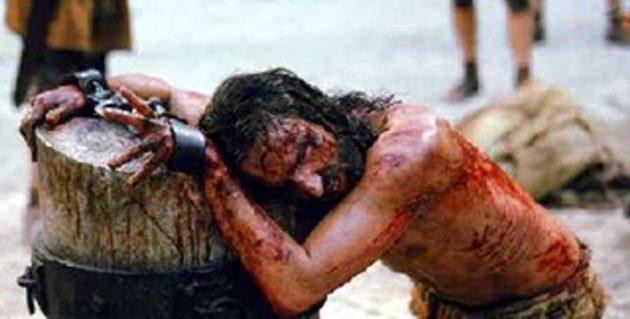 jesucristo azotado imagen