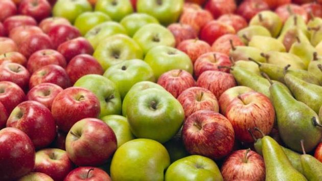 soñar con frutas rojas y verdes