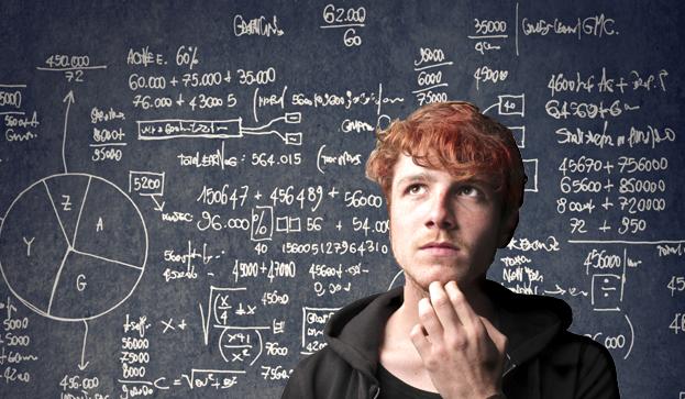 soñar con formulas matemáticas