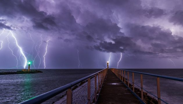 soñar con tormenta imagen