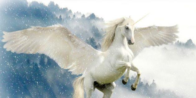 soñar con unicornio con alas
