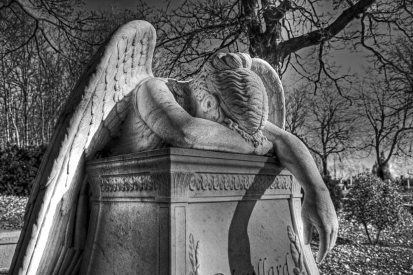 ángeles llorando imagen
