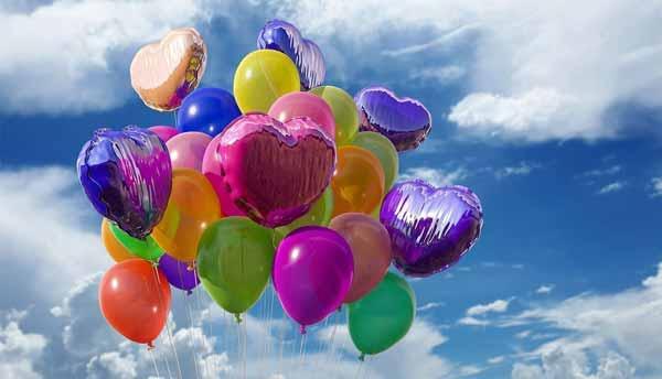 soñar con globos de colores 1