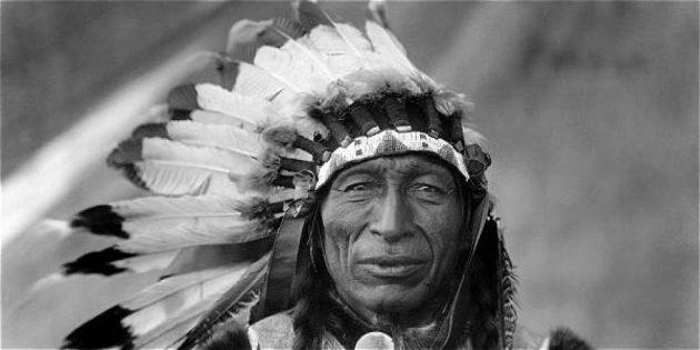 jefe indígena imagen