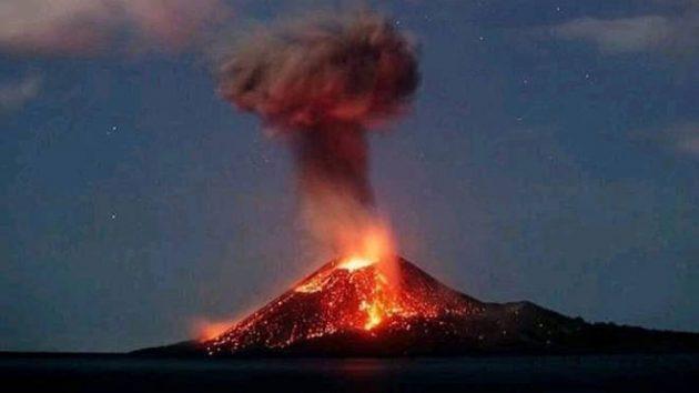 soñar con volcanes imagen