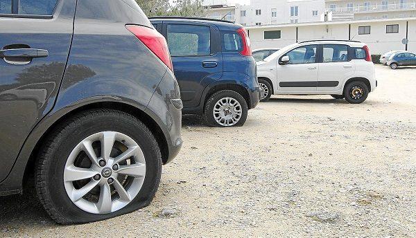 neumáticos bajos