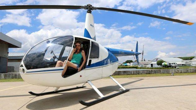 soñar manejando un helicóptero