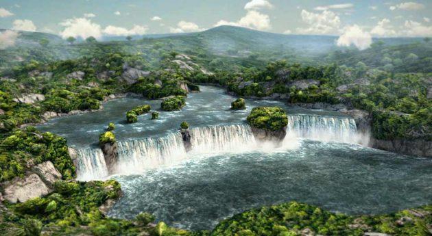 soñar con cascadas imagen