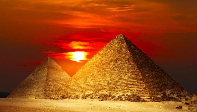 soñar con pirámides de Egipto