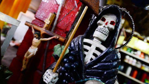 soñar con la santa muerte negra