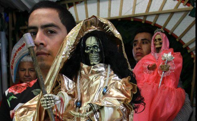 soñar con la santa muerte blanca