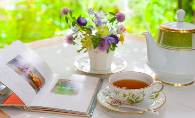 soñar con té