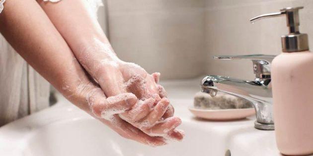 soñar lavandose las manos