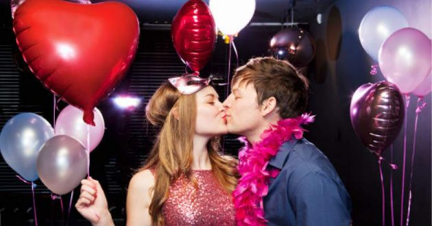 soñar celebrando san Valentín
