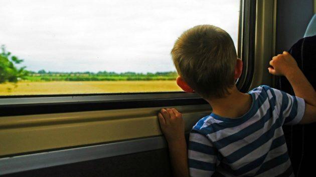soñar viajar en tren imagen